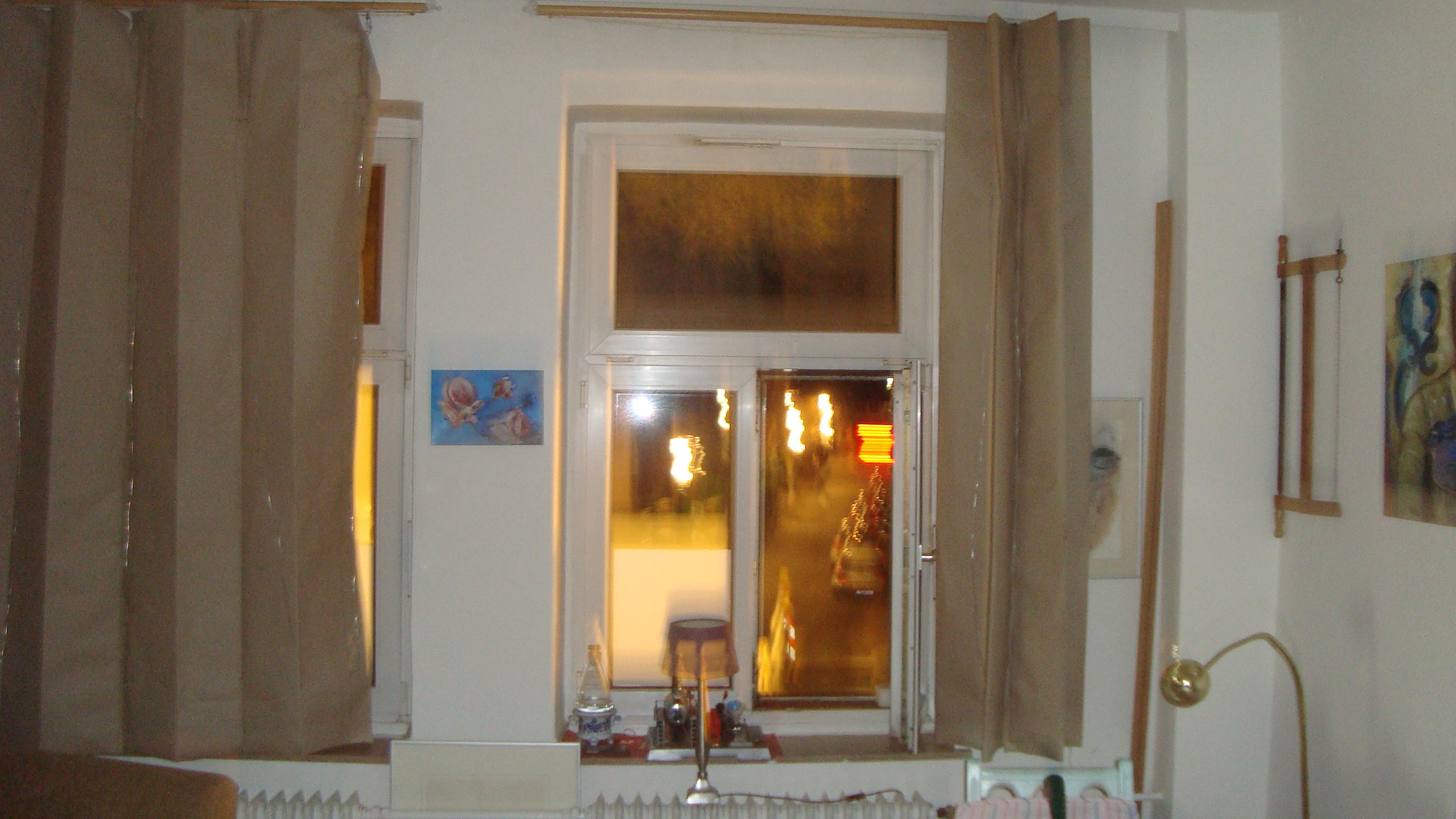 Blickschutz Natronpapier, Silberdraht, Sisal und Holzleim