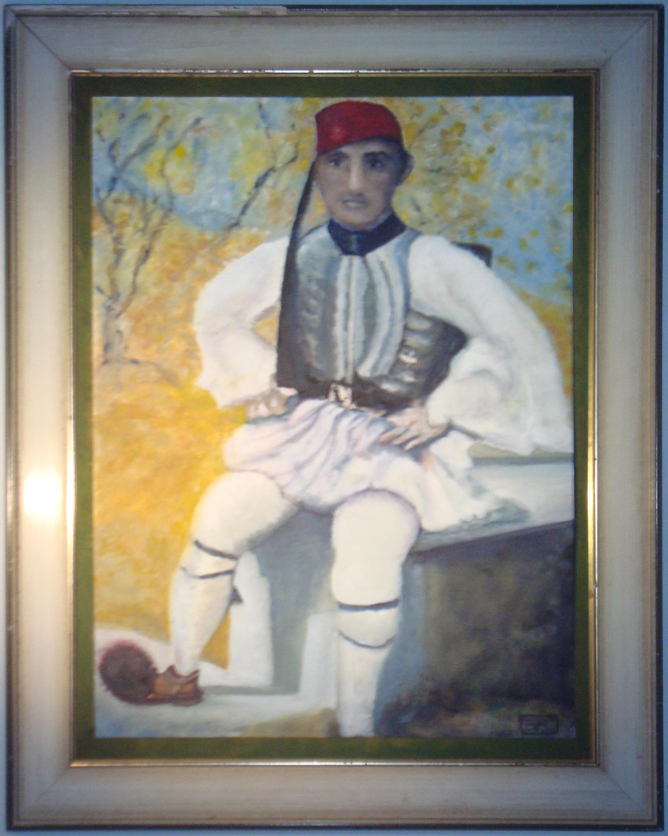 Griechischer Ehrengardist