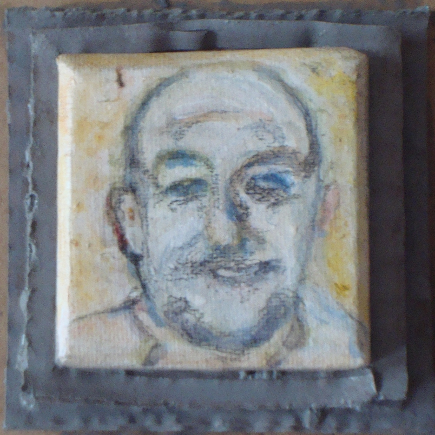 5 x 5 cm Leinwand auf Rahmen