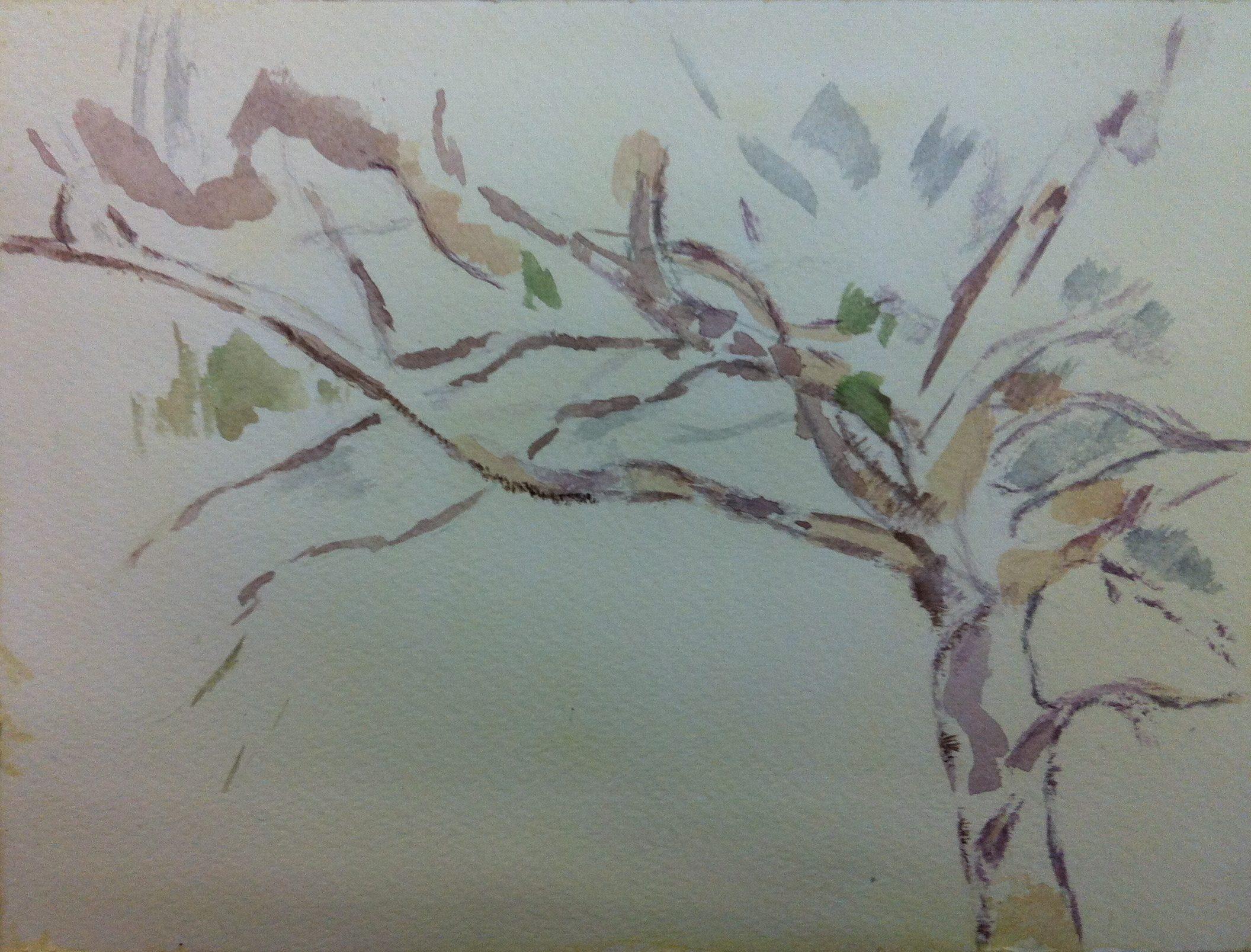 ein bisschen nach Paul Cézanne